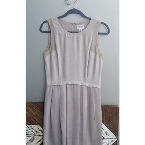 REISS Grey Midi Dress